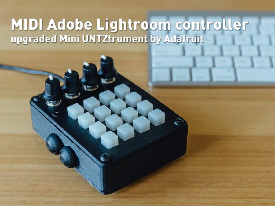 Lightroom control panel