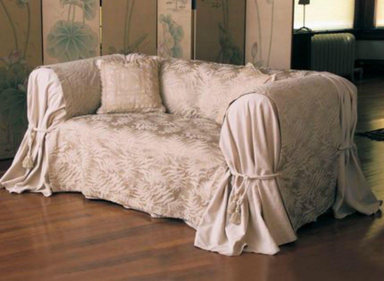 Copridivano Rustico ~ Come rinnovare il vecchio divano spendendo pochissimo. come