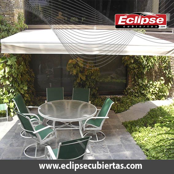Toldo retr ctil ideal para terrazas toldos mallasombra for Cuerdas para toldos