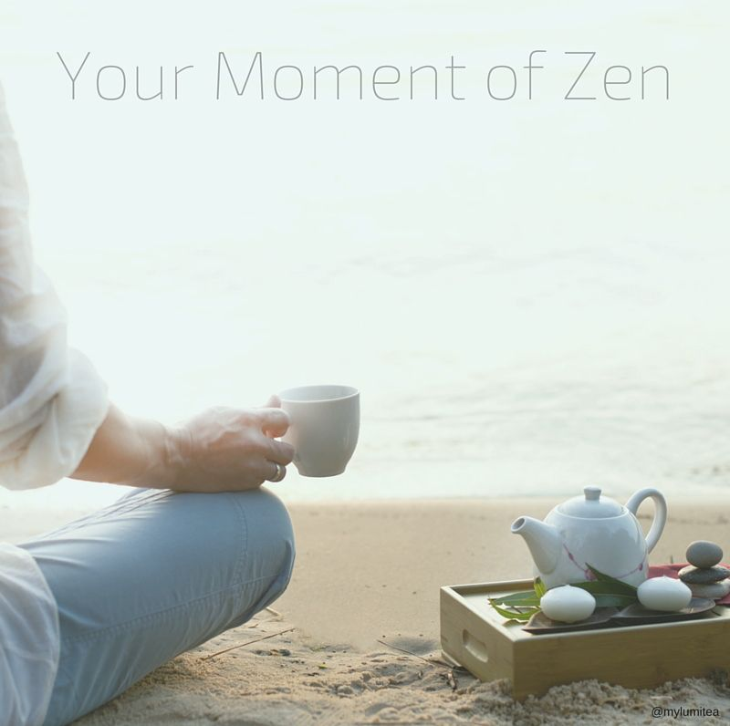 Your moment of #morning #zen, brought to you by LumiTea. #monday
