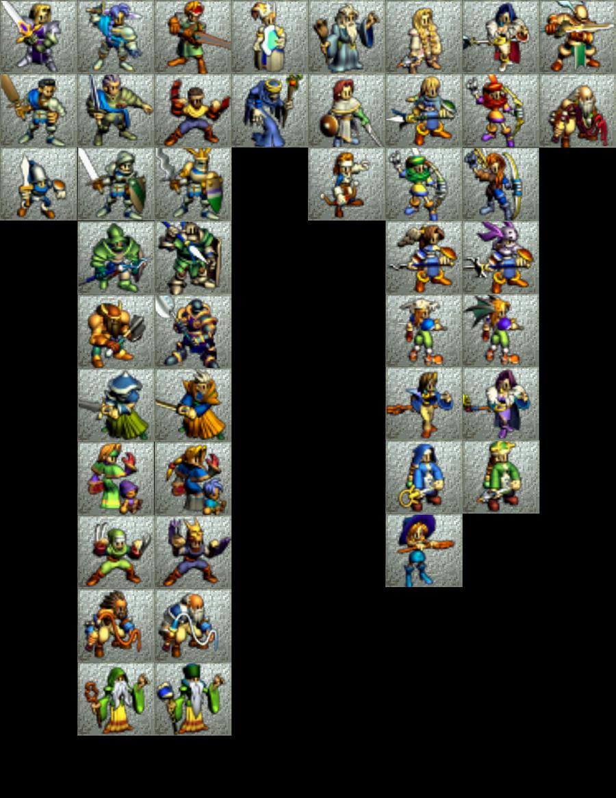 Ogre Battle 64 Human Classes | Gaming in 2019 | Ogre battle, Battle