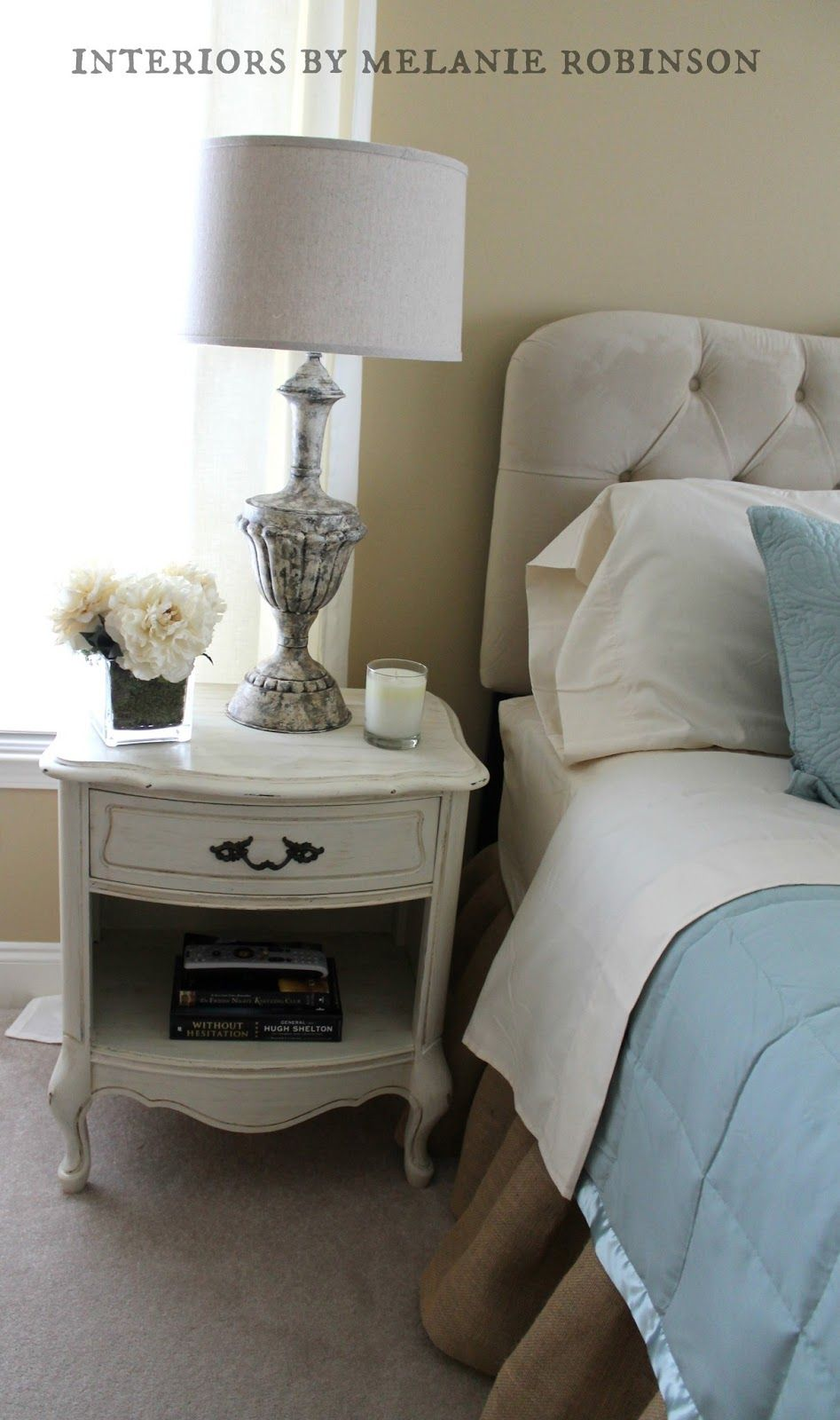 The Painted Chandelier: Interiors by Melanie Robinson- Master Bedroom Makeover