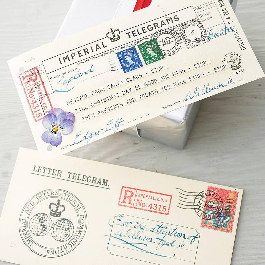 2018 letter from santa telegram santa christmas fun and family 2018 letter from santa telegram spiritdancerdesigns Images