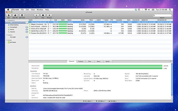 WebTorrent Desktop is for streaming torrents.