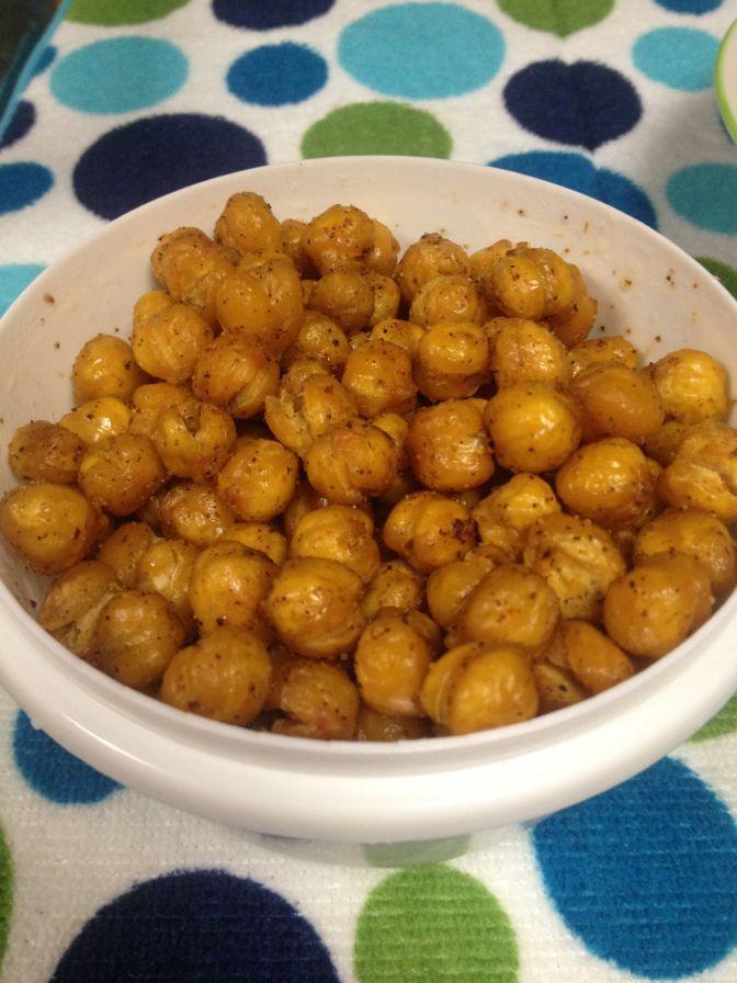 Roasted Chickpeas (Garbanzo beans)   - yummmm!!!! -