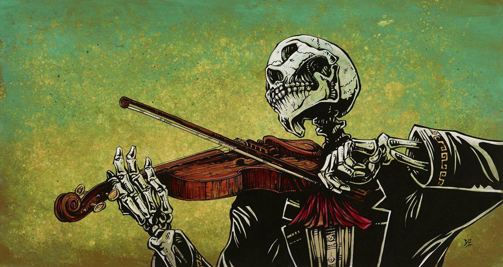 El Violinista David Lozeau Art Art Canvas Art Prints