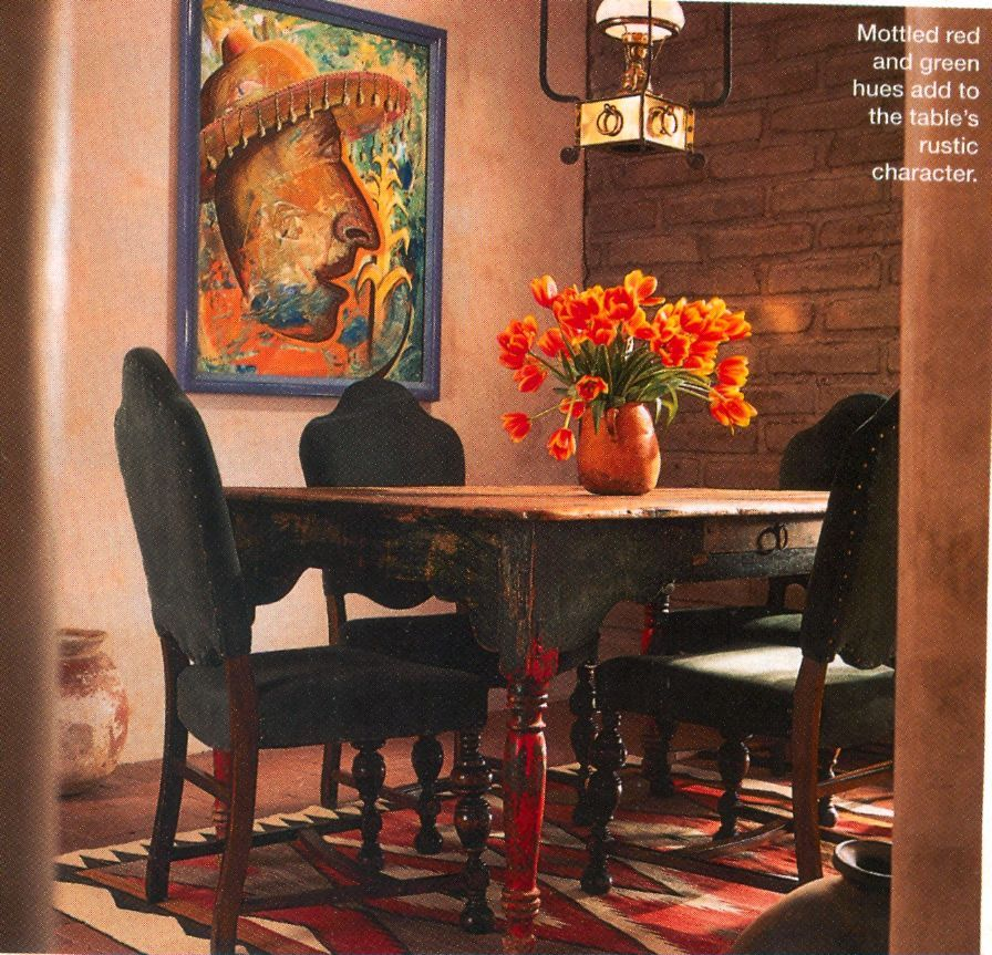 Mexican Rustic Dining Table Amp Chairs Kitchens