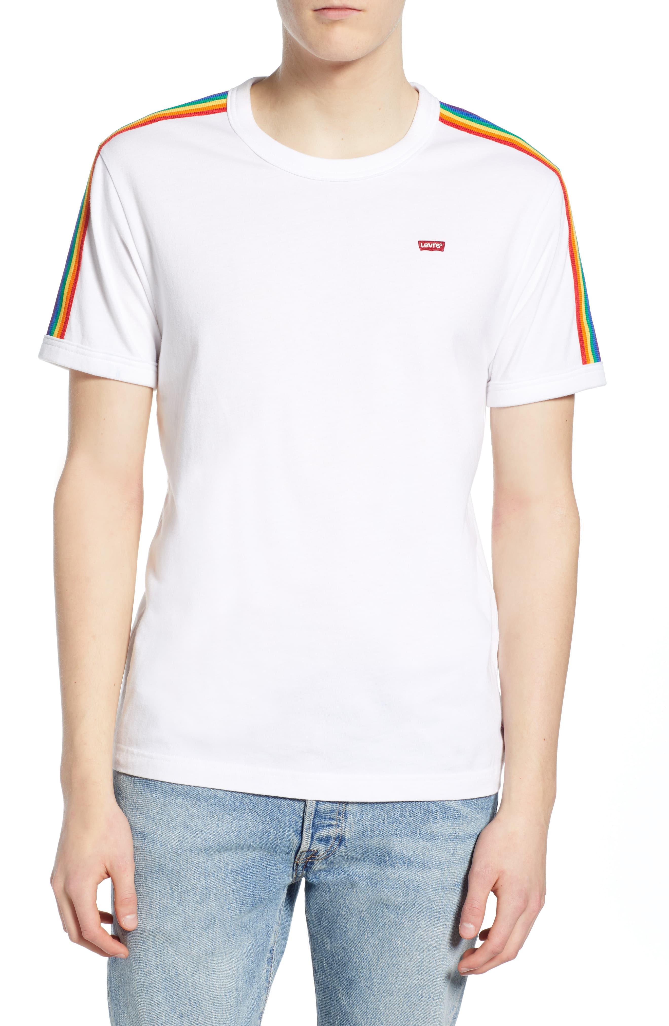 ventas especiales fecha de lanzamiento online aquí Levi's Pride Ringer T-Shirt | Products in 2019 | Pride ...
