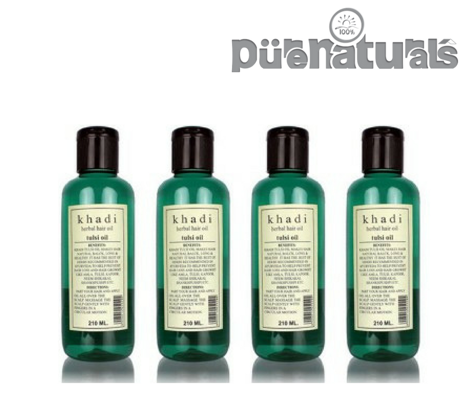 KHADI TULSI OIL best hair care for alll hair problems