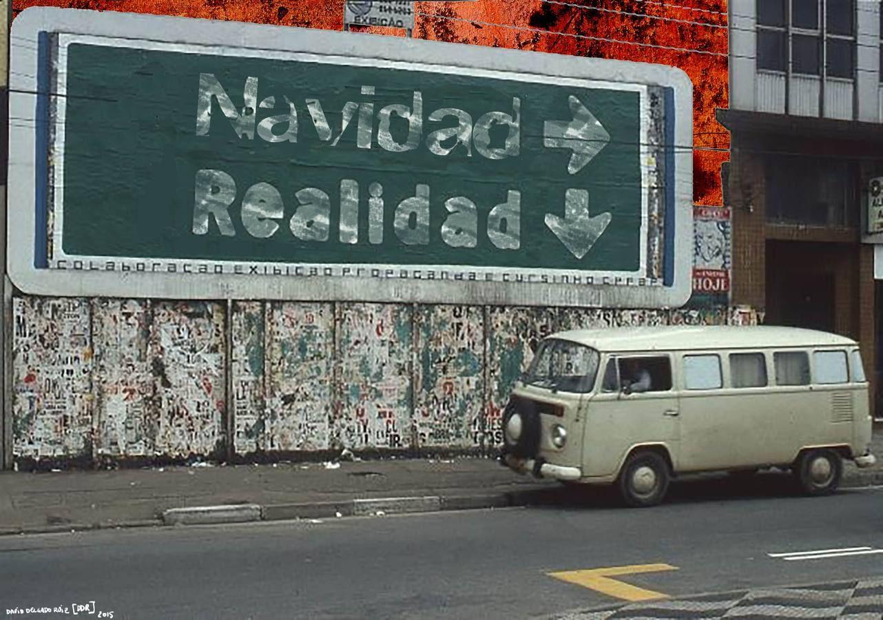 «Navidad, realidad», de David Delgado. Baño de realidad como los que ofrecían Javier Lozano o Cuco Suárez en sus envíos