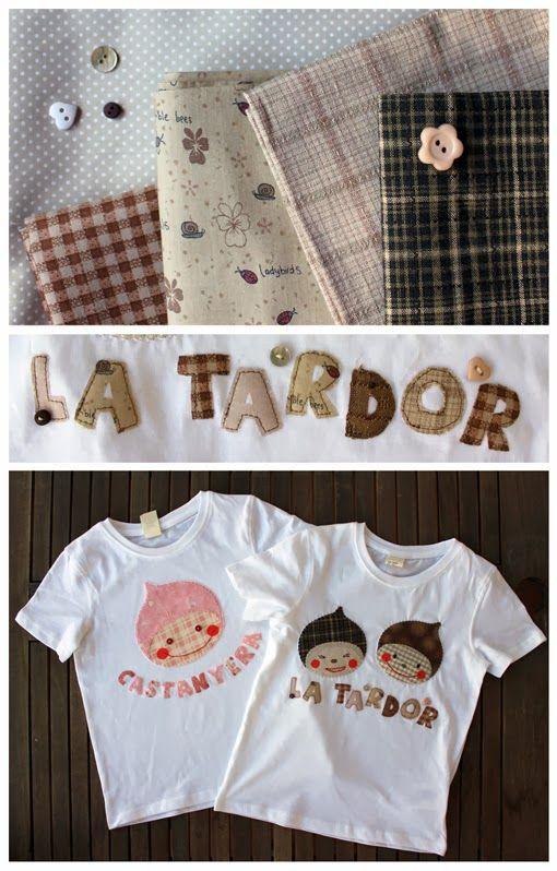 Camiseta personalizada con patchwork de Lin-Lin