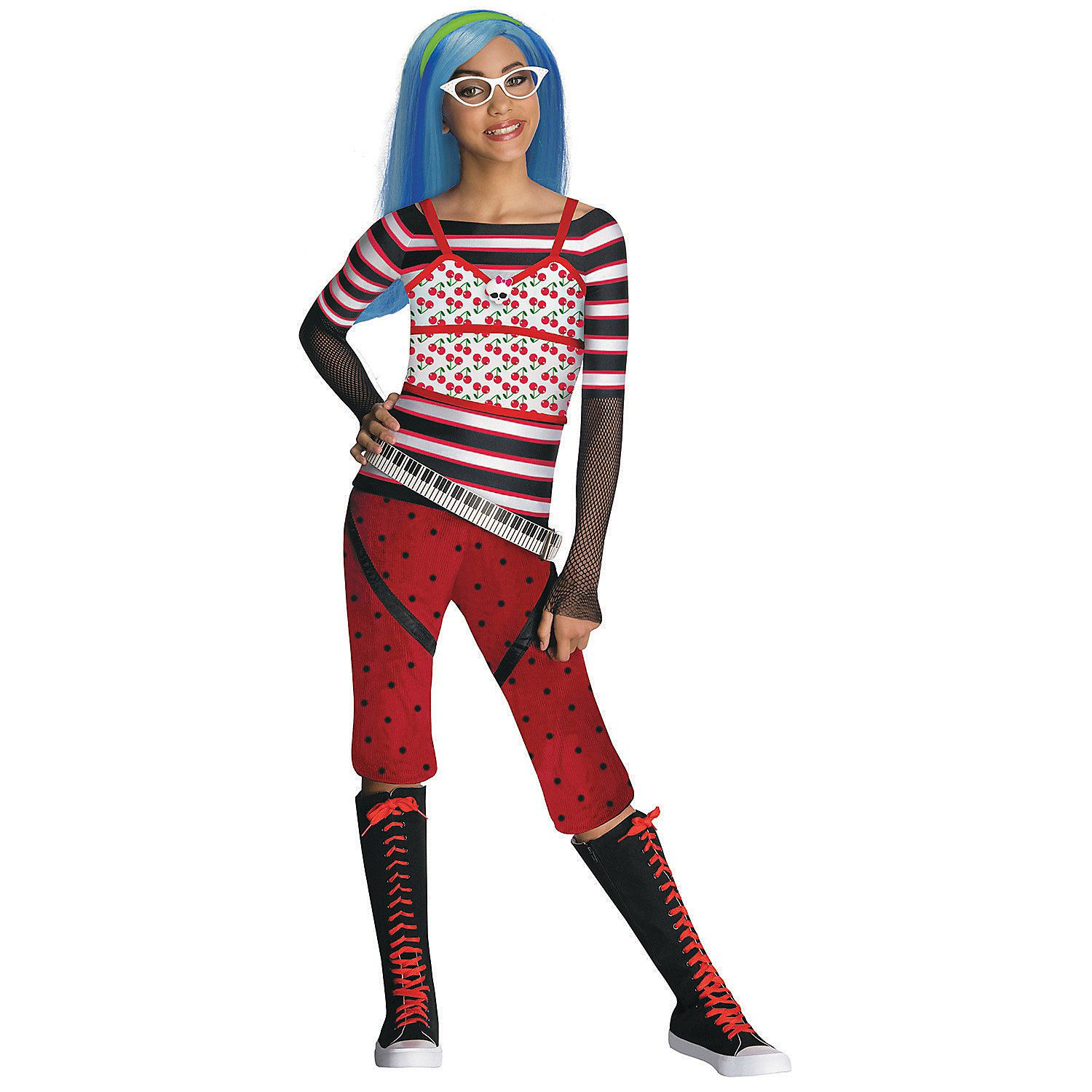Girl's Monster High™ Ghoulia Yelps Costume #deguisementfantomeenfant