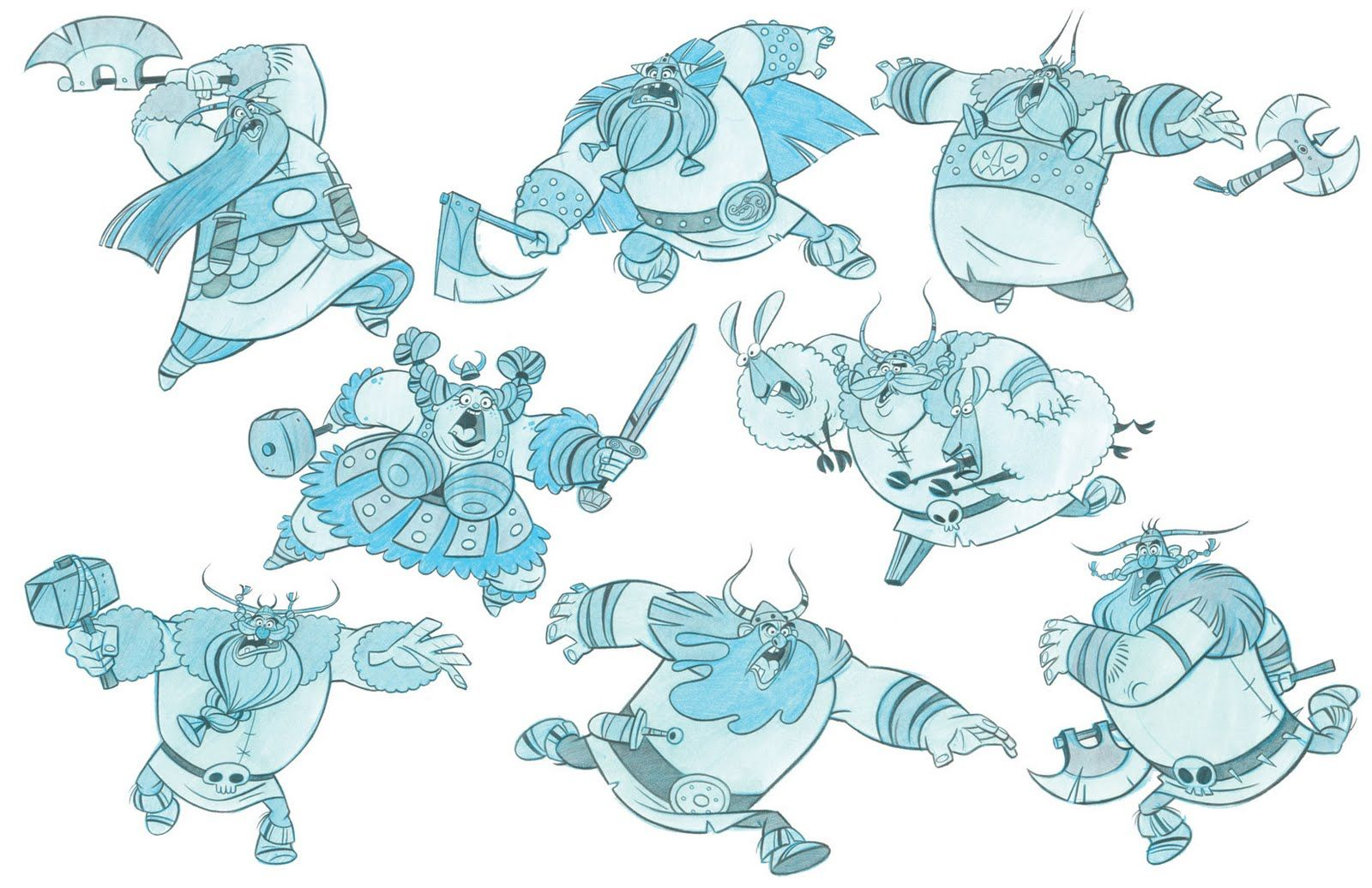 "Artist: Ben Balistreri -   frozen vikings  ""How to Train Your Dragon"" ★ Find more at http://www.pinterest.com/competing"