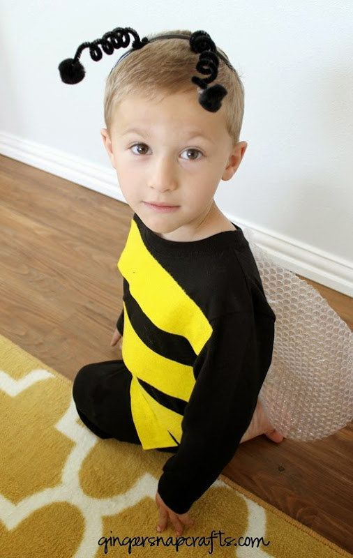 17 Mind-Blowingly Cute And Simple Halloween Costumes For Kids - cute childrens halloween costume ideas