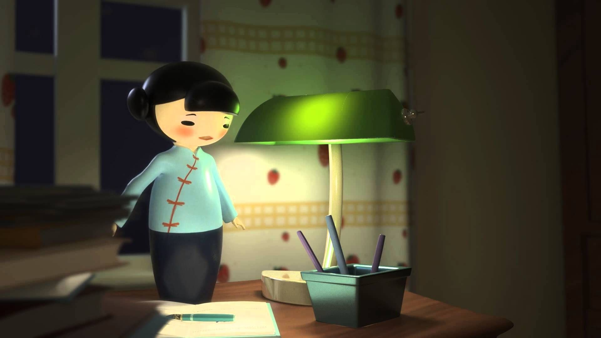 """CGI 3D Animated Short HD """"The Easy Life"""" by Jiaqi Xiong"""