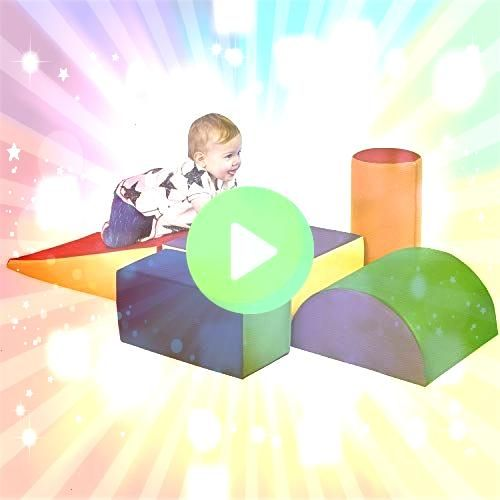SoftZone Climb and Crawl Foam Play Set for Toddlers and Preschoolers Module Blocks  Set A  B  Classroom Furnishings  Blocks  eSpecial Needs Found it at Wayfair  Gross Mot...