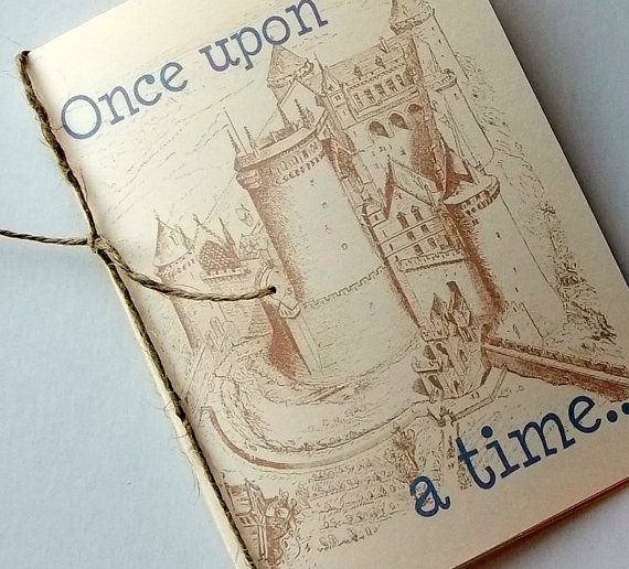 Wedding Invitation Book Style: Fairytale Wedding Invitation Booklet, Customized With Your