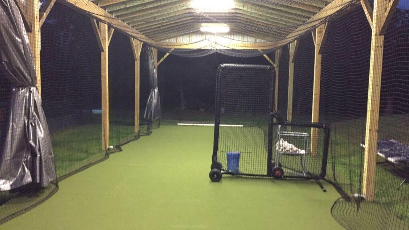 Pin on batting cage