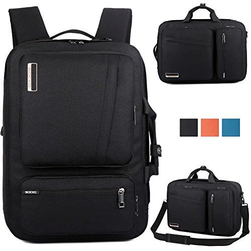 BRINCH® Unisex Fashion Business Travel College Nylon Padded Laptop ...