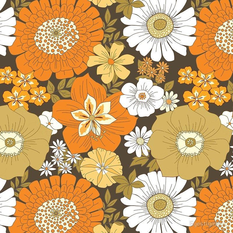 Design Vintage Flowers Vintage Textiles Patterns Hippie Art
