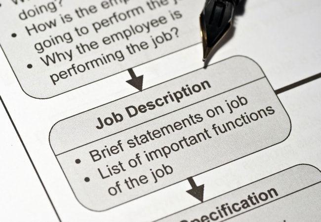 Individual job description in textile \ apparel industry - job description templates