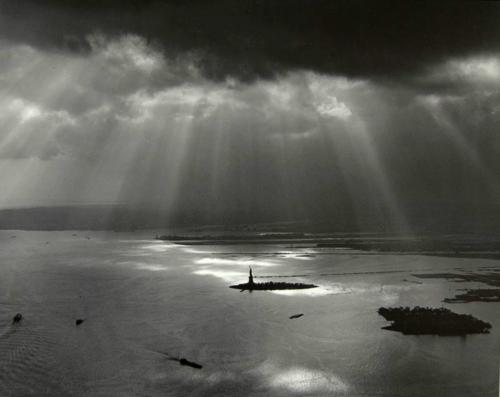 Estátua da Liberdade, NYC,fotografia de Tom Baril,1977