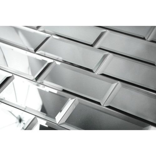 Reflections 3 Quot X 6 Quot Glass Peel Amp Stick Subway Tile With