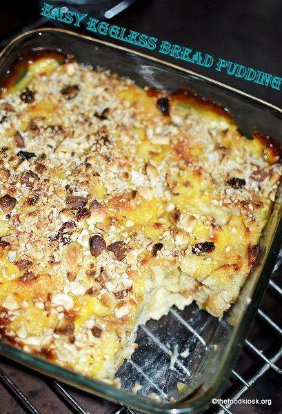 Easy Bread Pudding Recipe Bread Pudding Easy Bread Pudding Easy Bread