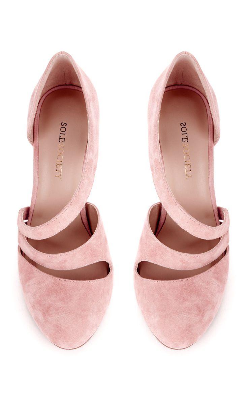 Petal pink heels   Shoes Shoes Shoes!   Pinterest   Flats Pink