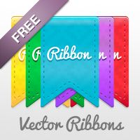 Free Vector Ribbon Pack #scentsylaborday