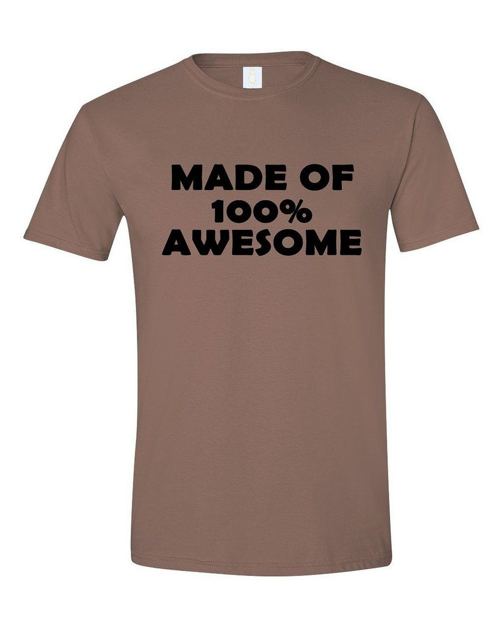 Apericots - Made of 100% Awesome Adult Design Tshirt, $13.99 (http://www.apericots.com/made-of-100-awesome-adult-design-tshirt/)