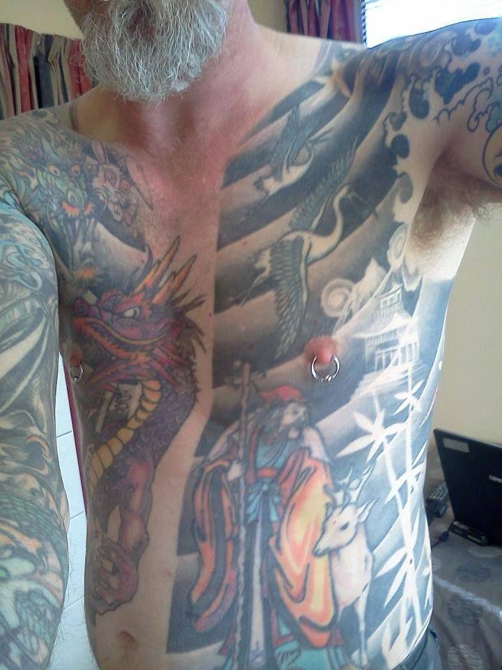 Daman leigh new zealand tattoo artist new zealand