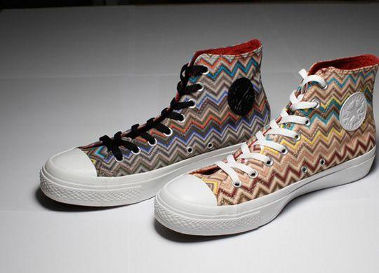 Missoni & Converse Drop a New Technicolor Chuck II | Converse ...