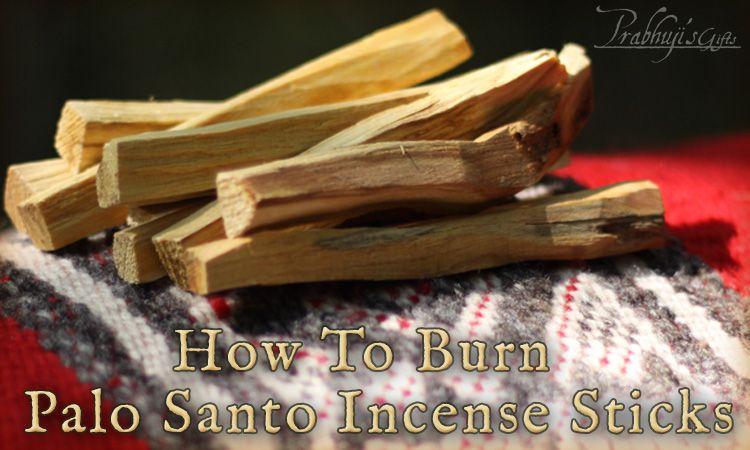 howtoBlogPG Palo santo, Incense sticks, Incense