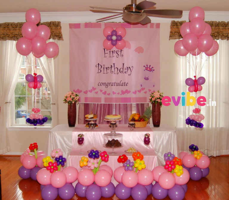 simple balloon decoration for birthday party in 2019