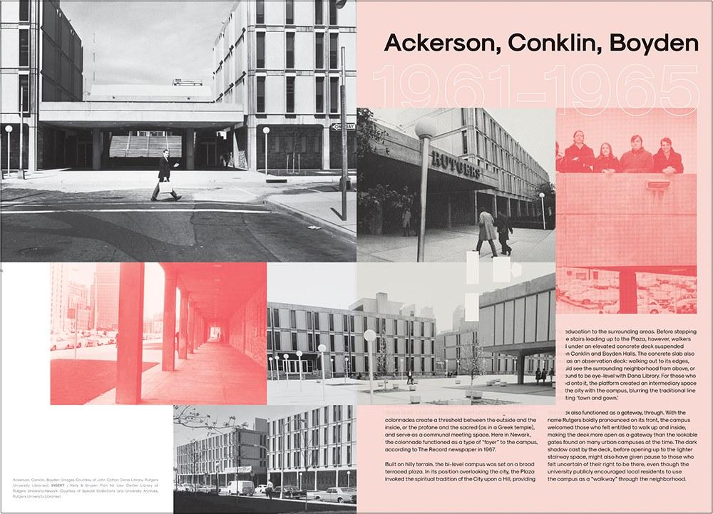 Newark Rhythms Communication Art Newark Typography Brochure