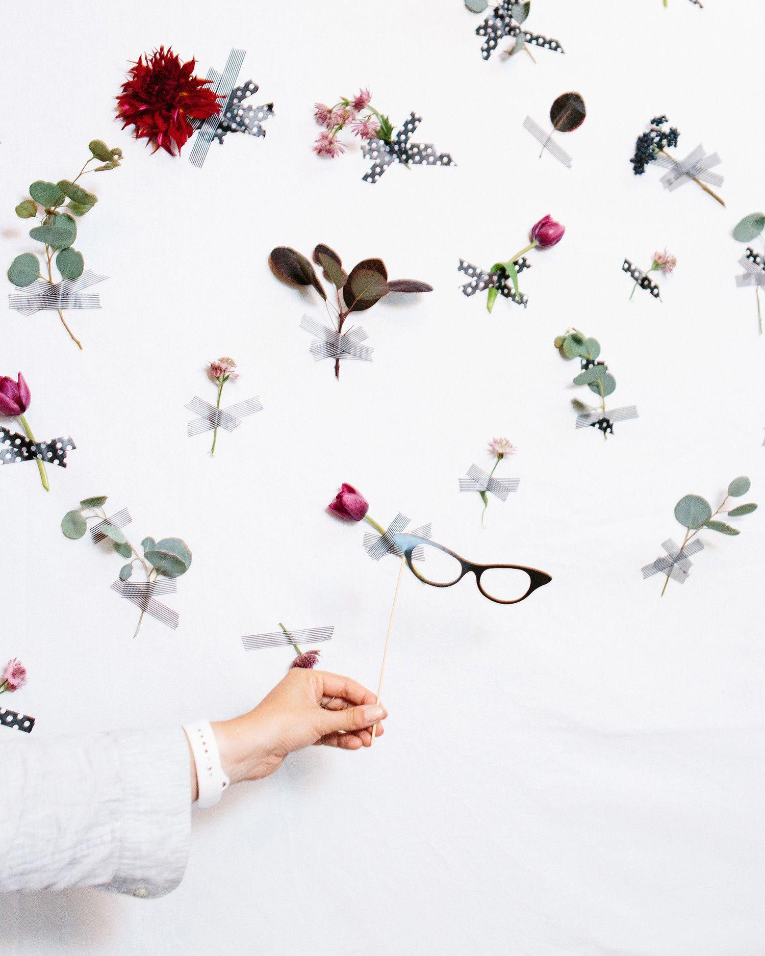 Modern Wedding Backdrop Ideas: A Contemporary Wedding At A Boston Art Museum
