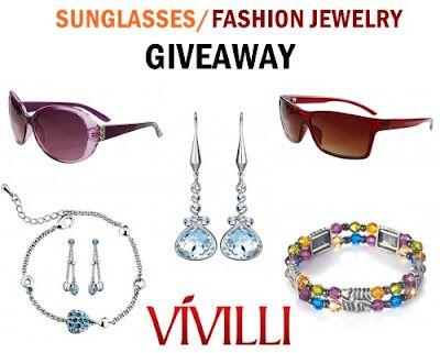 Momaye's Diary: Vivilli Sunglasses/Fashion Jewelry Giveaway