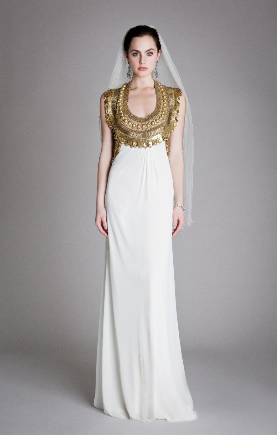 Egyptian wedding dresses  Y RTW Look Goddess Dress  Temperley London  Artisanal Empress