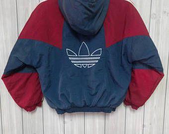 vintage de los años 90 adidas sportwear chaqueta bomber