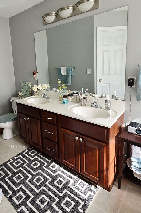 How To Keep Your Bathroom Clean In Minutes A Day Bathroom - How to keep your bathroom clean