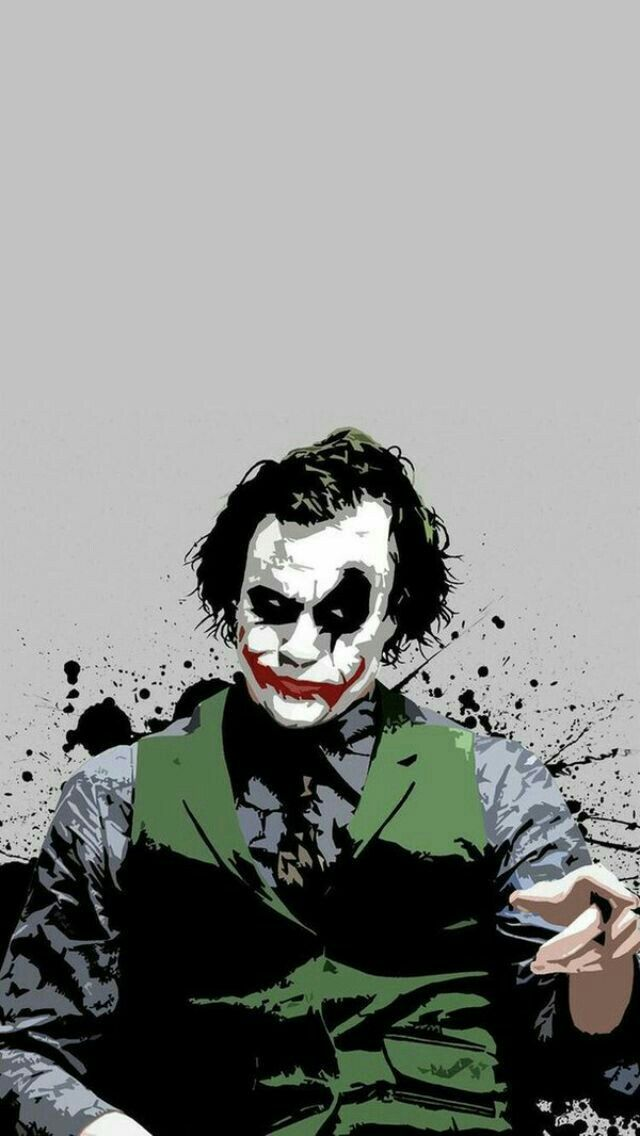 Customize Your IPhone 5 With This High Definition Heath The Joker Wallpaper From HD Phone Wallpapers