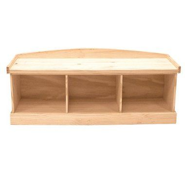 Unfinished Storage Bench, To Be Painted $170