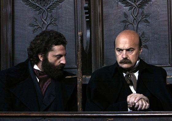 Guido with Luca Zingaretti
