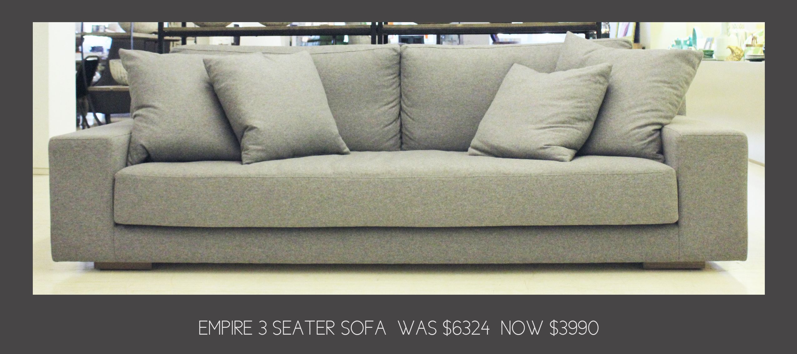Hot pick from our clearance sale – Jardan Empire 3 Seater Sofa