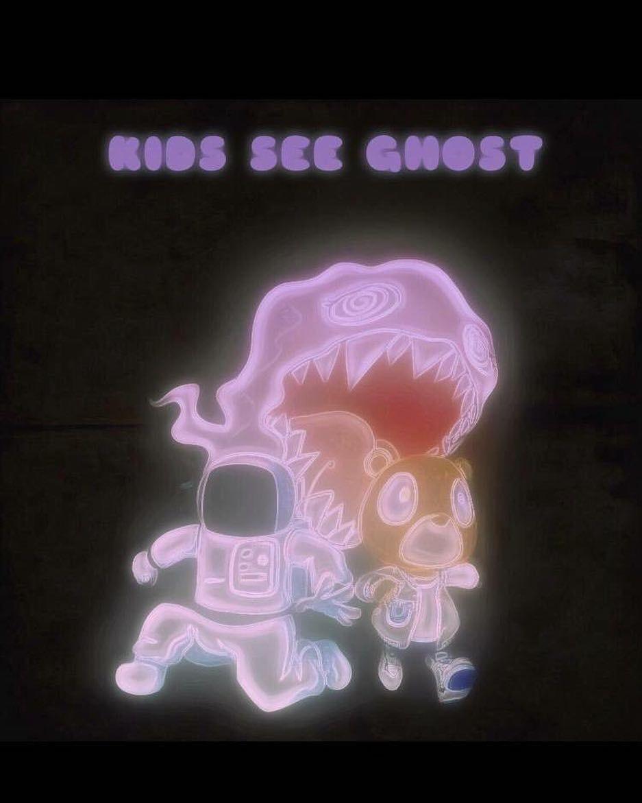 174776dd44a7 Kid Cudi & Kanye West: Kids See Ghost 👻 | Comikz, Comedy, ART in ...