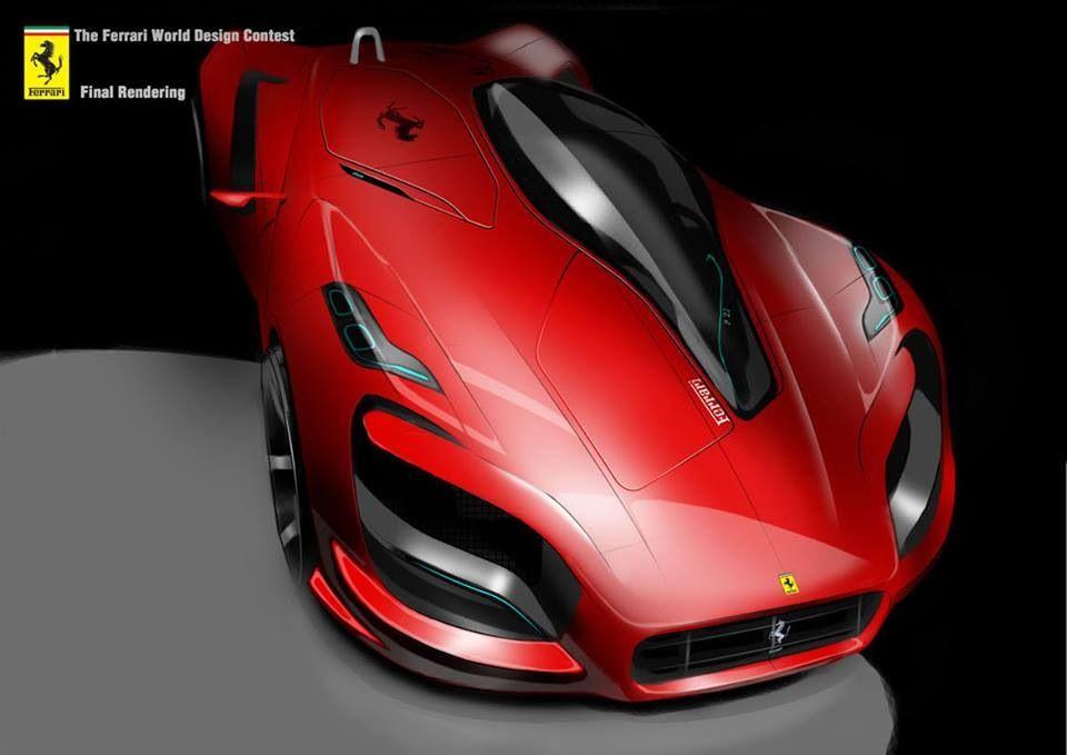 Ferrari concept sketch | Automotive Rendering Tech | Pinterest ...