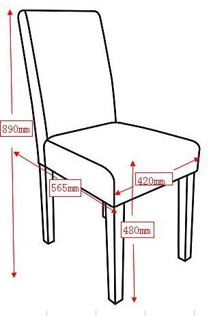 Standard Dinning Dimensions