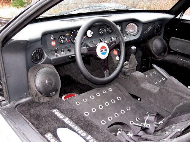 1966 ford gt40 interior - 1966 Ford Gt40 Interior