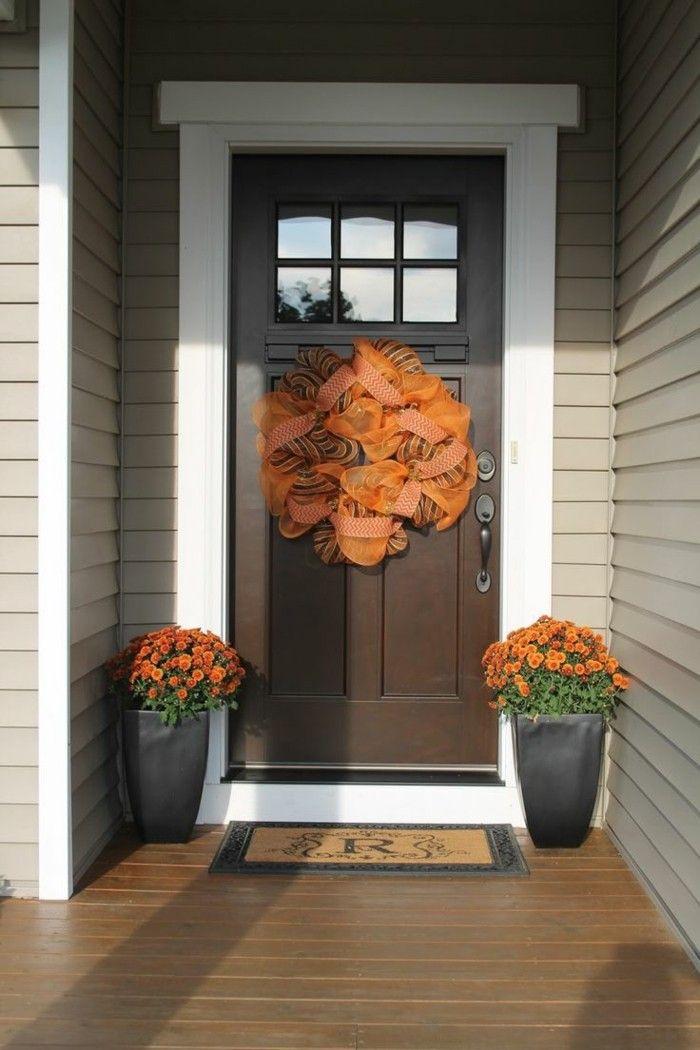 Laden Sie Den Herbst Zu Sich Nach Hause Durch Tolle Herbst Deko Ein.  Beginnen Sie Dabei Bereits Bei Dem Eingang Mit Unseren über 50 Tolle Ideen.